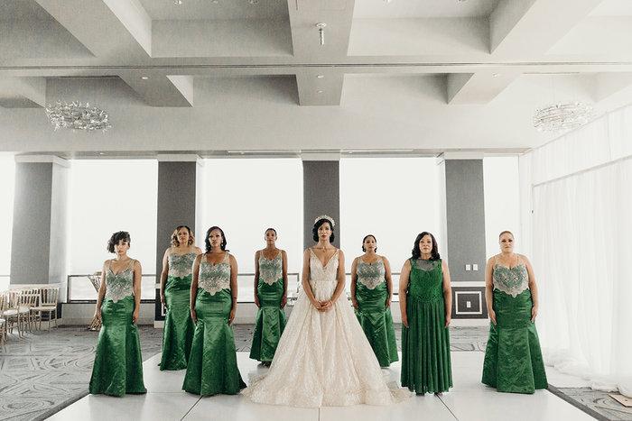 Harris Wedding Bridesmaids