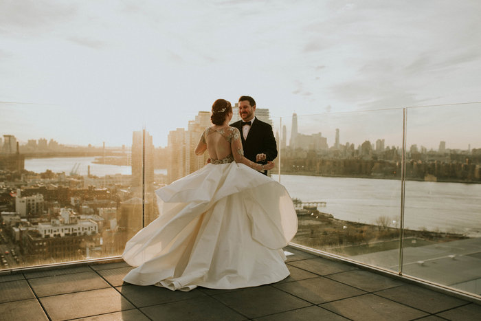 First Look, Brooklyn, sunset, Nato Tuke, Hayley Paige, Collins